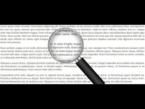 how to create magnifying glass effect - Myhiton