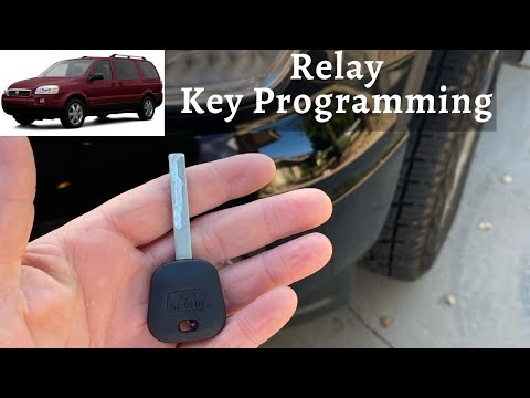 How To Program A Saturn Relay Key 2005 - 2007 DIY Transponder Chip Ignition - Lost All Keys