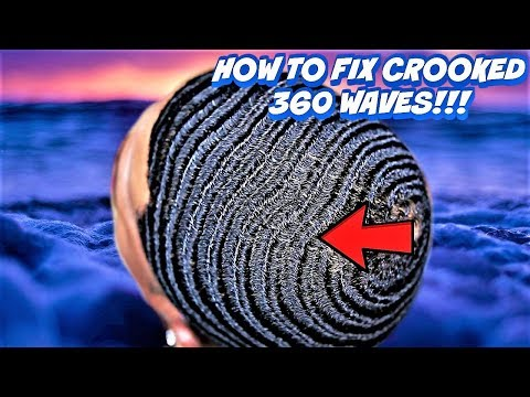 How to Fix Crooked 360 WAVES, BREAK FORKS & BETTER CONNECTIONS! (4 Beginners & Elite Wavers)*UPDATE*