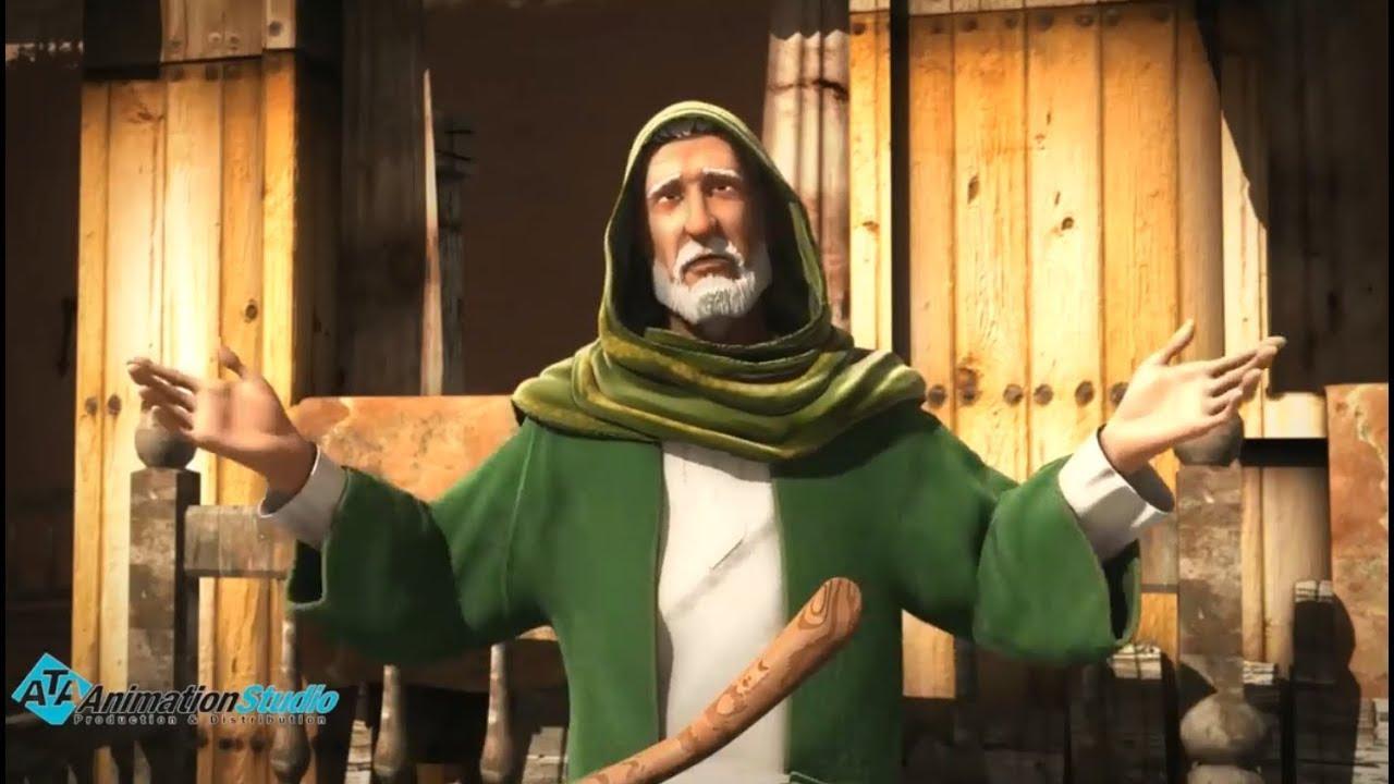 سيدنا موسي هرب الي الصحراء خوفا من فرعون و جنوده
