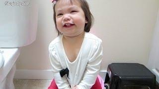 Potty Training Begins! - April 17, 2014 - itsJudysLife Daily Vlog
