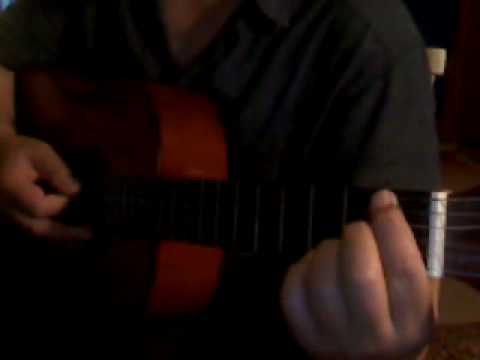 Reading Music On Guitar:  Lines notes on position 9