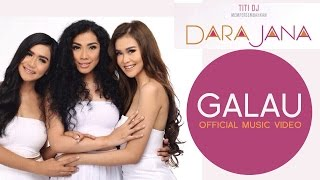 Video Dara Jana - Galau (Official Music Video) download MP3, 3GP, MP4, WEBM, AVI, FLV Oktober 2017