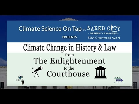 Climate Change in History and Law - Naked City Brewing