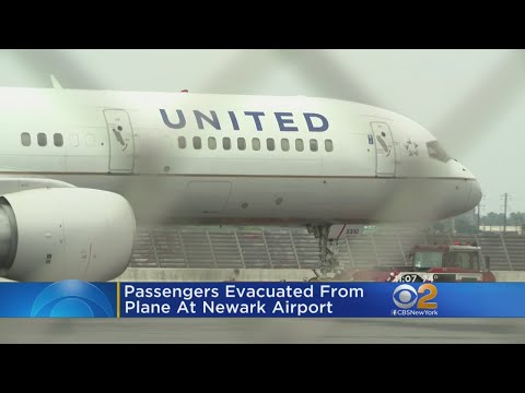 United Plane Evacuated At Newark