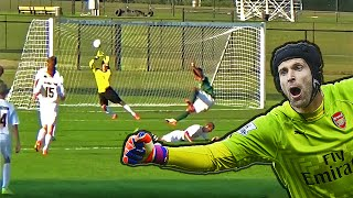 TOP 5 - Best Goalkeeper Saves I WEEK #58 2015
