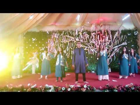 Goriya churana mera jiya holud dance