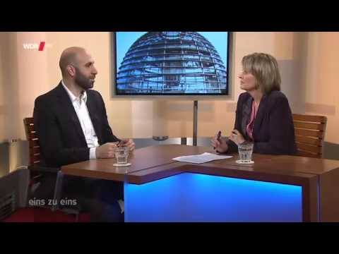 EFD Programme Director Ahmad Mansour is interviewed on WDR