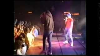 Beastie Boys concert in Los Angeles; 1987 + backstage with Run--D.M.C.