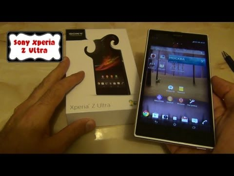 Sony Xperia Z Ultra, подробно (и очень позитивно) / Арстайл /