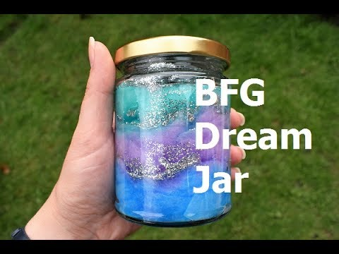 How To Make A Bfg Dream Jar Youtube