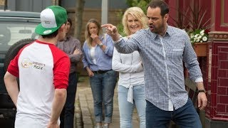 EastEnders - Mick Carter Vs. Marky The Pizza Boy (3rd August 2018)