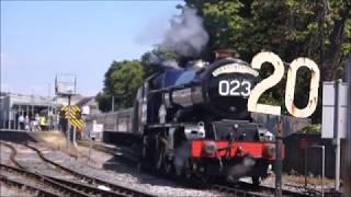 60009 6023 Torbay Express 15th July 2018 Kingsbeer Festival