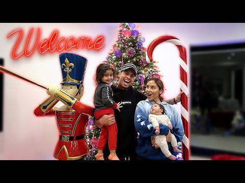 THE ACE FAMILY CHRISTMAS HOUSE TOUR!!!