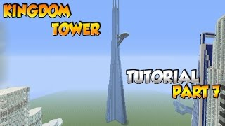 Minecraft Kingdom Tower Tutorial Part 7 - XBOX/PS3/PC