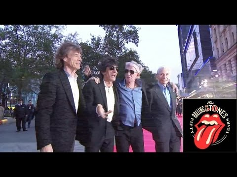 The Rolling Stones  Crossfire Hurricane World Premiere In London