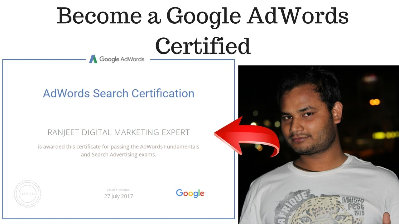 How to become a google adwords certified professional hindi youtube how to become a google adwords certified professional hindi xflitez Images