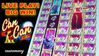 BIG WIN! - Can Can de Paris Slot - **NEW** - LIVE PLAY - Slot Machine Bonus
