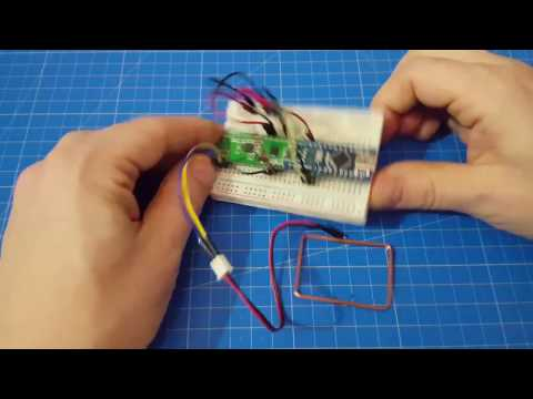Connecting RFID Reader To An Arduino