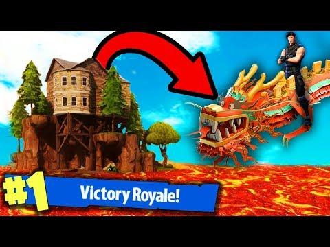 THE DRAGON In FORTNITE Battle Royale!