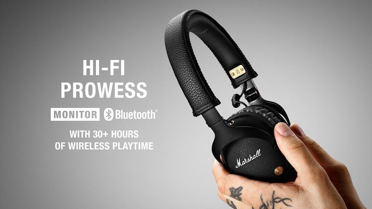 576b47f455c Marshall - Monitor Bluetooth Headphone - Intro/Trailer - YouTube