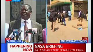 Raila Odinga to Jubilee: I don't care about lack of security