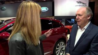 2017 Jaguar F-PACE at the Canadian International Auto Show