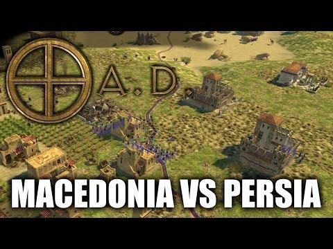 """JUGANDO 0 A.D. - """"Macedonia VS Persia"""""""