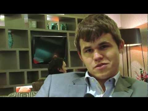 Magnus Carlsen on beating Garry Kasparov's rating record
