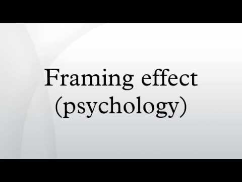 framing effect psychology
