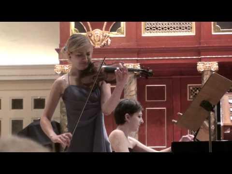 Amelia Maszońska: F. Poulenc- Violin Sonata