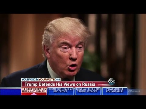 VIDEO: Trump Caught Knowing Nothing, Mumbles Word Salad