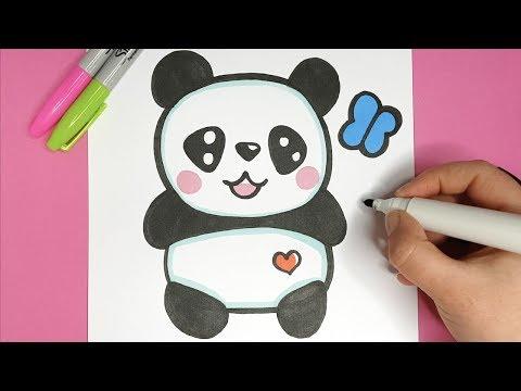 Kawaii Baby Panda Malen Einfach Und Suss Youtube