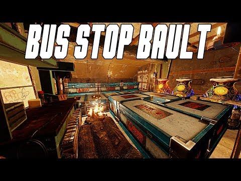 Bus Stop Bunker Vault! (Rust Build)