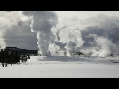 Yellowstone volcano How geyser caused hydrothermal ERUPTION