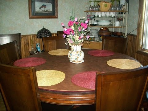 table pads for dining room table - youtube