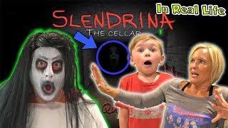 Slendrina Game in Real Life - Granny and Grandpa