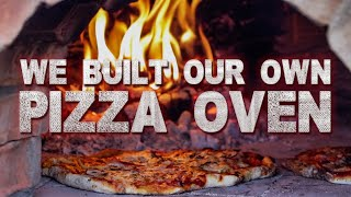 Building our own outdoor Pizza Oven - How hard can it be?