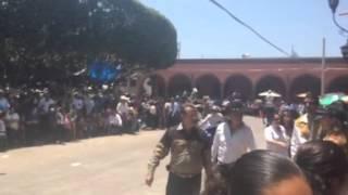 Desfile  del caracol en Ayotlan Jalisco 2015