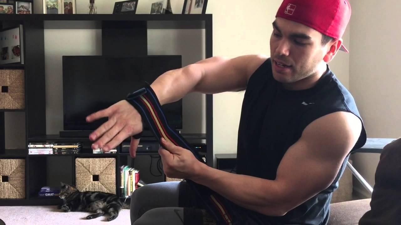schiek wrist wraps how to use