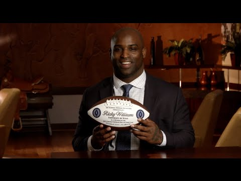Ricky Williams: 2015 NFF Hall of Fame inductee [Jan. 9, 2015]