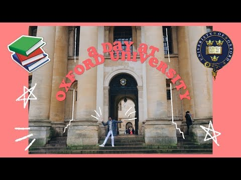 A Day In My Life at OXFORD UNIVERSITY