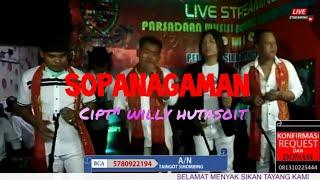 Sopanagaman# cipt: Willy Hutasoit  #HOMBERS TRIO feat Thurman Sihombing Go'rame Band