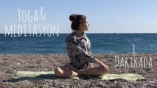Yeni Başlayanlar için Yoga ve Meditasyon ♥ Rahatlamak için 8 dakika - her yerde yapabilirsiniz!
