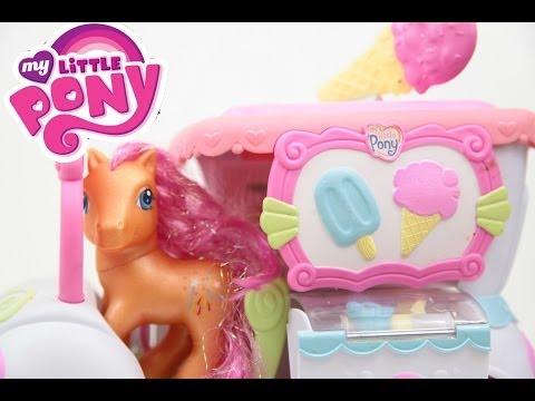 My Little Pony Ice Cream Truck Dream Supreme With Rainbow Swirl Play Toys Videos