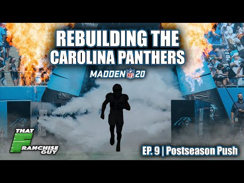 A Realistic Rebuild Of The Carolina Panthers | Madden 20 | Ep 9: Postseason Push
