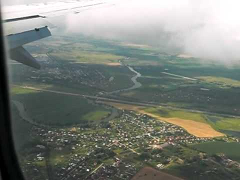 Landing in Domodedovo Airport with EL-AL (Tel Aviv - Moscow)