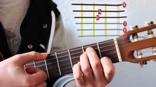 Primer acorde: MI MENOR. Diferencia entre Nota y Acorde!! Curso básico de Acordes 1