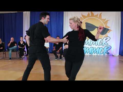 Jordan Frisbee Tatiana Mollmann - Summer Hummer 2019 - Champions Strictly Swing from YouTube · Duration:  3 minutes 29 seconds