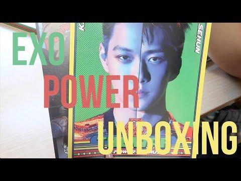 EXO 'Power of Music' Album Unboxing
